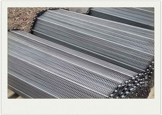 Balanced Weave Stainless Steel Wire Mesh Conveyor Belt Used For Food Transport